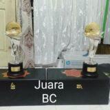 Tropi Juara BC Radjawali Indonesia Award