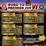 Brosur Lomba Burung Road to Presiden Cup 6